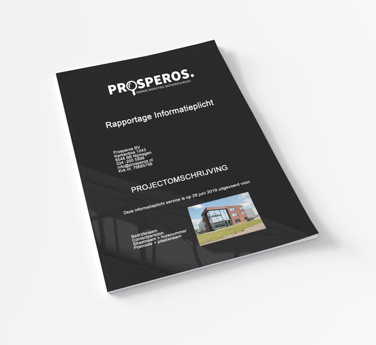 cover van een informatieplicht rapportage
